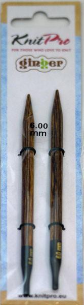 ニットプロ ginger 付け替え式 輪針 針先 6.00mm...