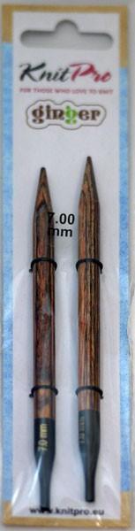 ニットプロ ginger 付け替え式 輪針 針先 7.00mm ...