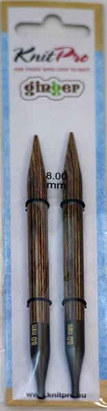 ニットプロ ginger 付け替え式 輪針 針先 8.00mm ...
