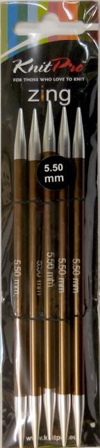 ニットプロ ZING ジング 5本針 15cm 5.50mm 47012...