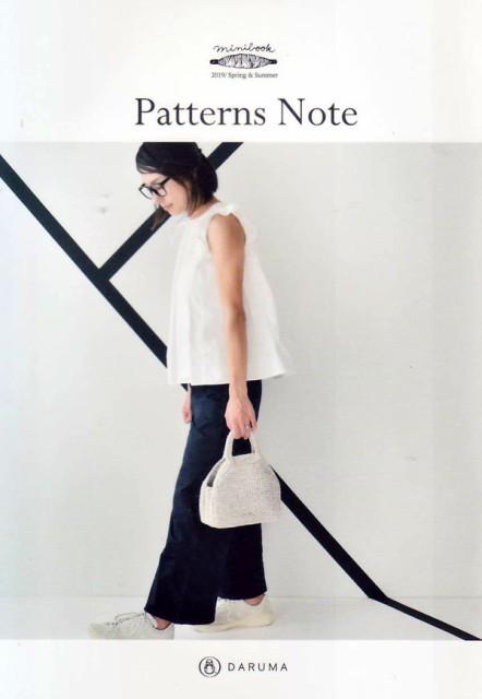 Patterns Note KN-15 ダルマ手編糸 ミニブック 帽...