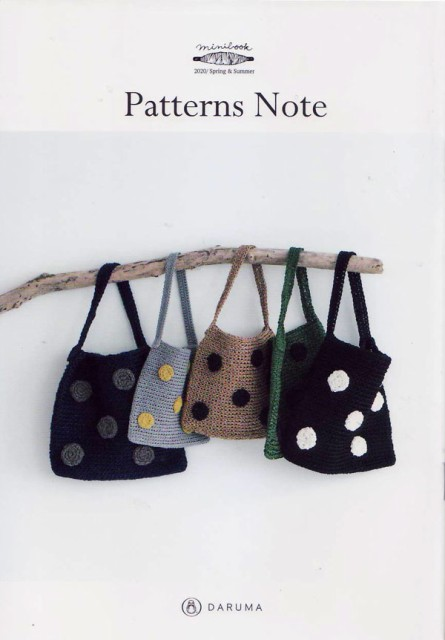 ミニブック Patterns Note KN-20 ダルマ 【KY】 ...