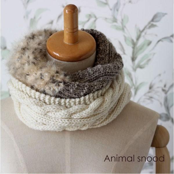 毛糸蔵かんざわオリジナルキット54 3種の糸で編む...