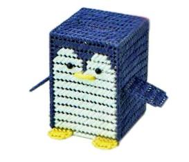 ペンギンさんの貯金箱 H367-286 ハマナカ エコア...