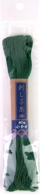 刺し子糸 小かせ 細 単色 40m 2180 ダルマ 【KY】...
