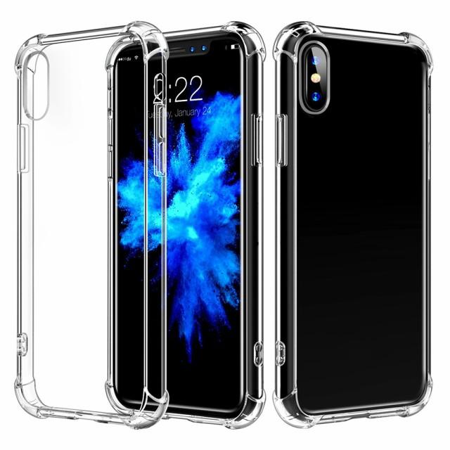 iPhoneXR ケース 高品質TPU エアバンパー クリア ...