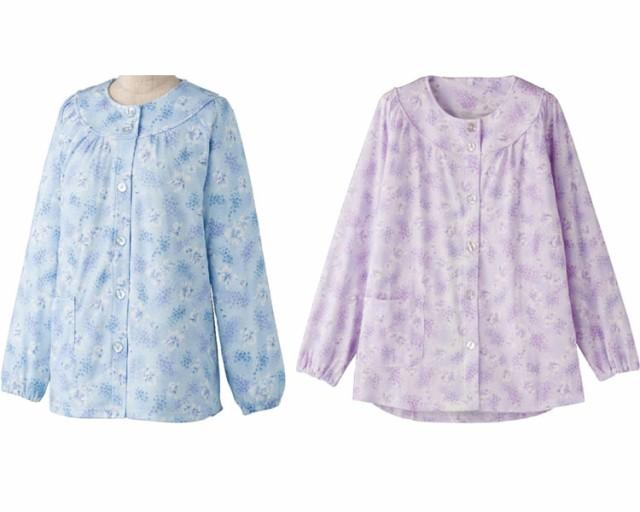 大きめボタンパジャマ(上衣) 39921 ケアファッ...