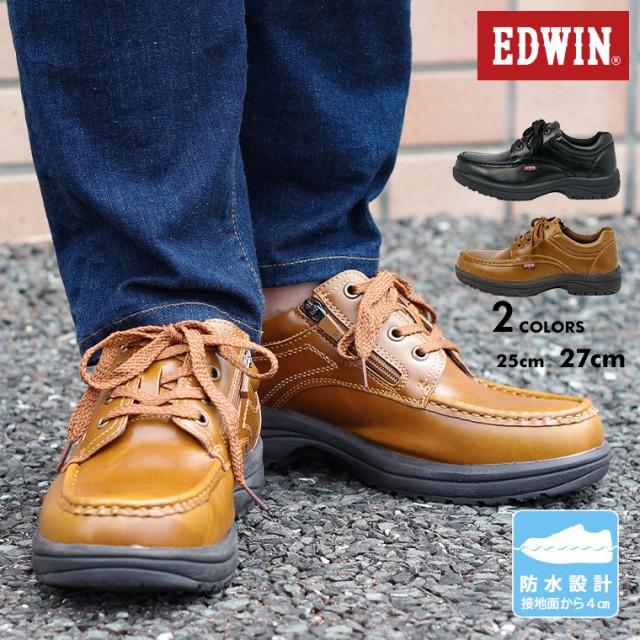 【送料無料】EDWIN エドウィン ビジネスシューズ ...