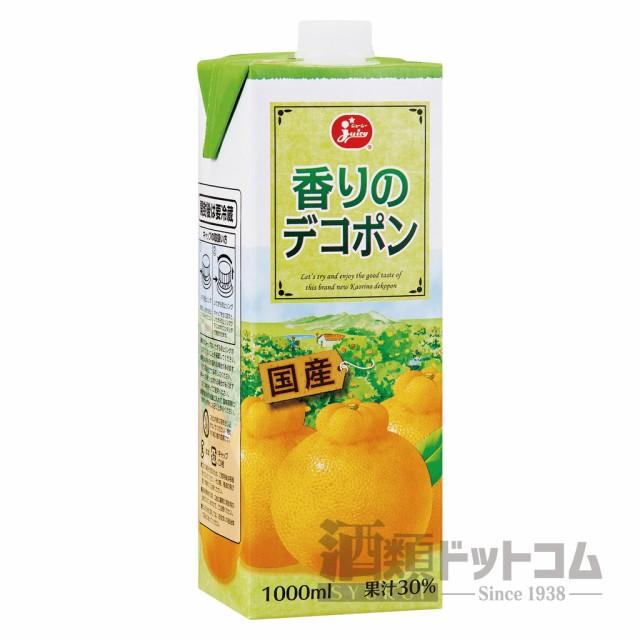 【酒 ドリンク 】ジューシー 香りのデコポン 1000mlパック(6本入り)(5463)