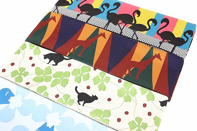 【洗える半幅帯】長尺 4.4m 女浴衣帯 ゆかた 半巾帯 ポリエステル ロングサイズ 大きいサイズ 浴衣から袴下帯まで