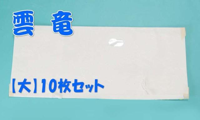 たとう紙(文庫)雲竜【サイズ・大】10枚セット