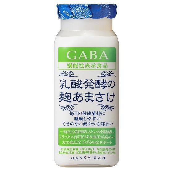 お歳暮 ギフト 八海山 はっかいさん 乳酸発酵の麹あまさけGABA (ギャバ) 118g 40本入り クール便 ケース販売 甘酒 あまさけ