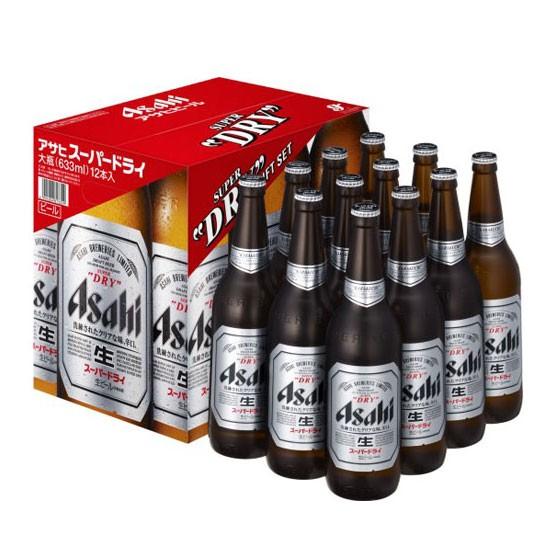 お歳暮 ギフト ビール アサヒ スーパードライ 大瓶 1ダース詰EX 633ml 12本 アサヒビール