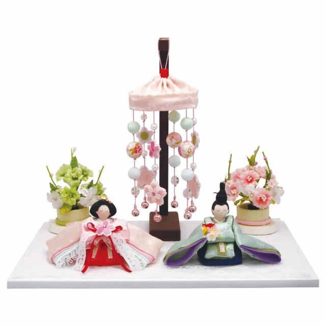 送料無料 雛人形 きらきら桜のお雛様 吊し飾り・...