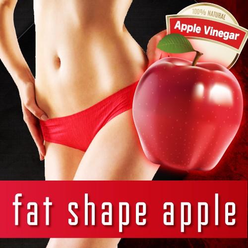 ファットシェイプアップル fat shape apple 3個セ...