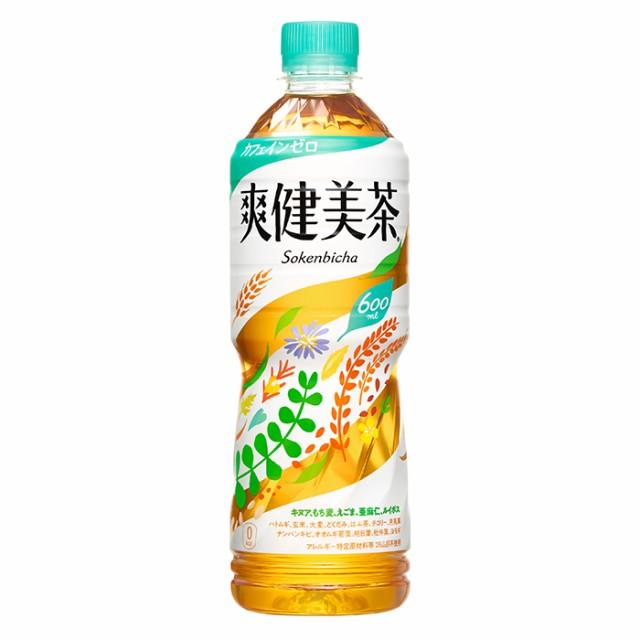 爽健美茶 600mlPET 24本 メーカー直送・代引不可/...