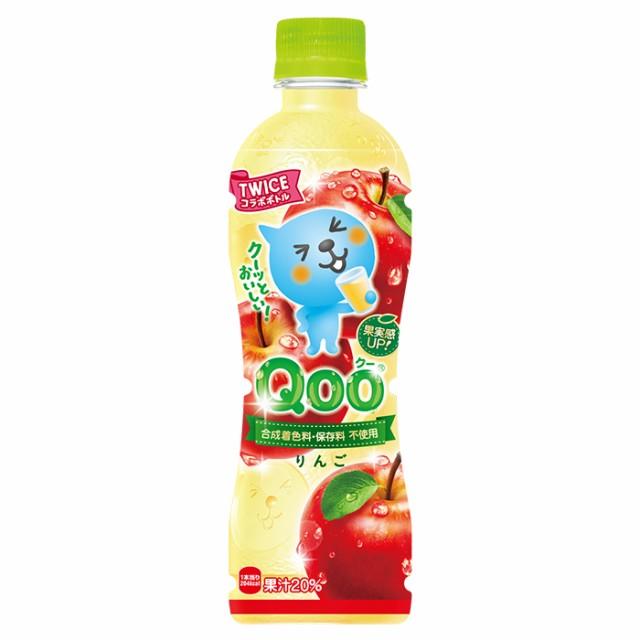 ミニッツメイド Qoo(クー) りんご 425mlPET 24本 ...