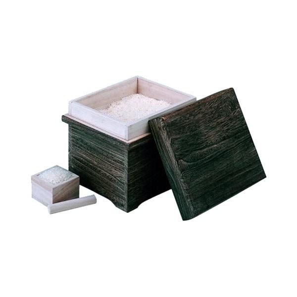丸十 木製 焼桐米びつ 10kg用 枡付