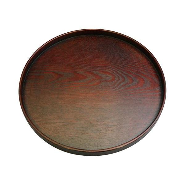 丸十 木製 10.0丸盆 目摺り