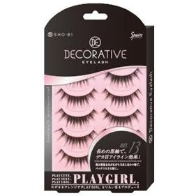 全品送料無料 DECORATIVE EYELASH PLAY GIRL 上ま...