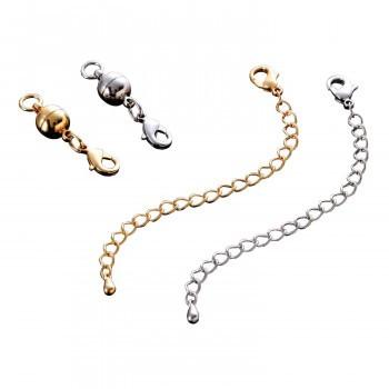 付け外し簡単!ネックレスの留め具(2色組)
