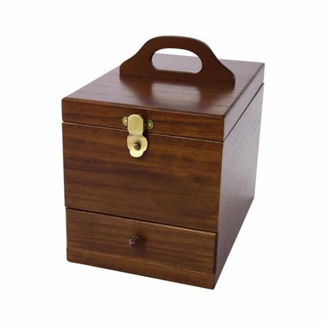 茶谷産業 日本製 Wooden Case 木製コスメティ...