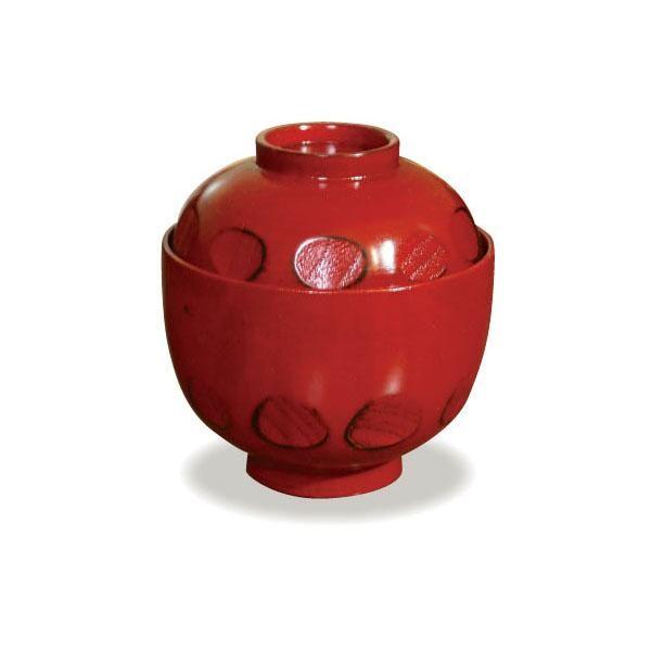 かのりゅう 木製食器 根来 小吸物椀 JA17-5-2...