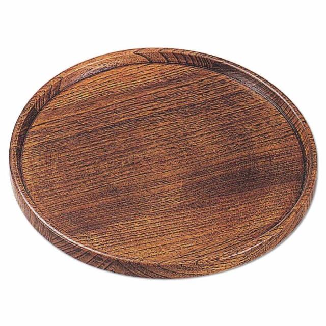 かのりゅう 木製 匠7寸給仕盆 JA17-9-13s 同...