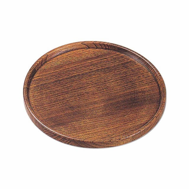 かのりゅう 木製 匠8寸給仕盆 JA17-9-14s 同...