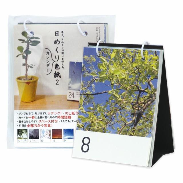 [メール便で送料180円]日めくりカレンダー色紙 ...
