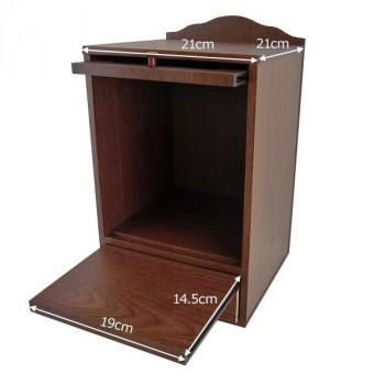 ペット用仏壇 メモリアルボックス WJ-8007