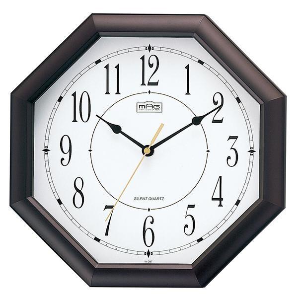 MAG(マグ) 壁掛け時計 オクターゴ ブラウン W-287...
