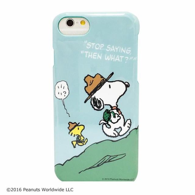 ピーナッツ iPhone8/7対応ハードケース スヌーピ...