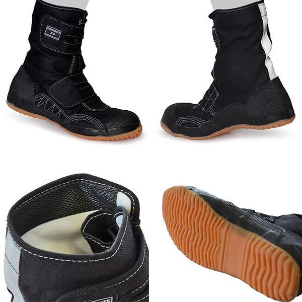 布製鉄芯入安全靴 フェイバリットジョブ M-15 黒