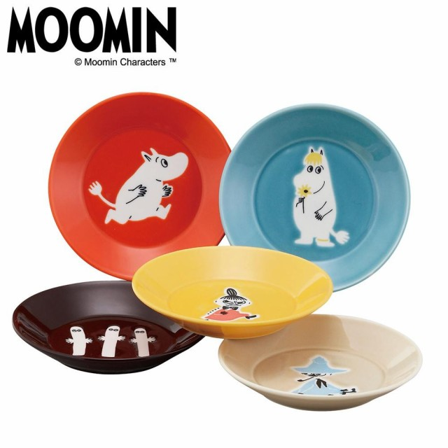 MOOMIN ムーミン ONE BY ONE ファイブプレートセ...