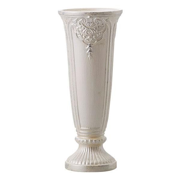陶器花瓶 Victorian II 11φ28H PEARL WHITE 170-...