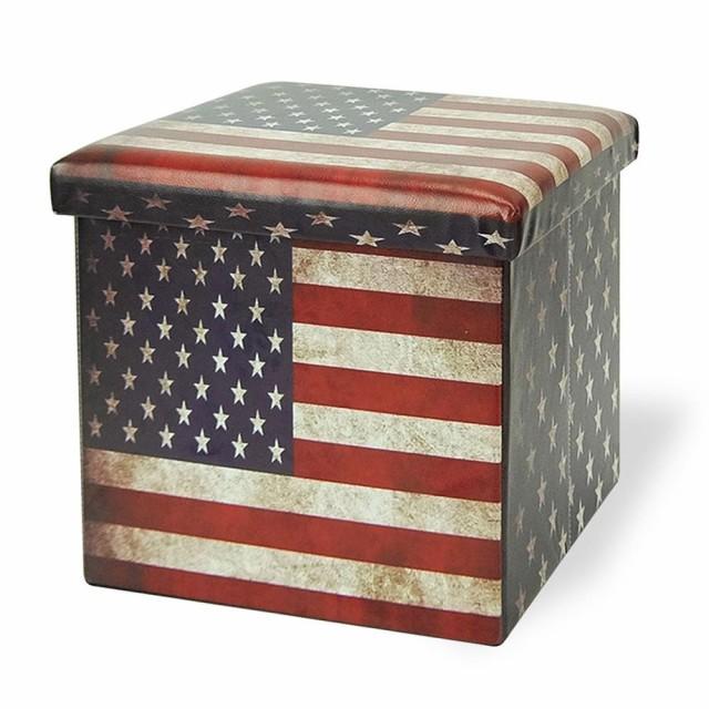 AMERICAN STOOL BOX STB-A-01 星条旗