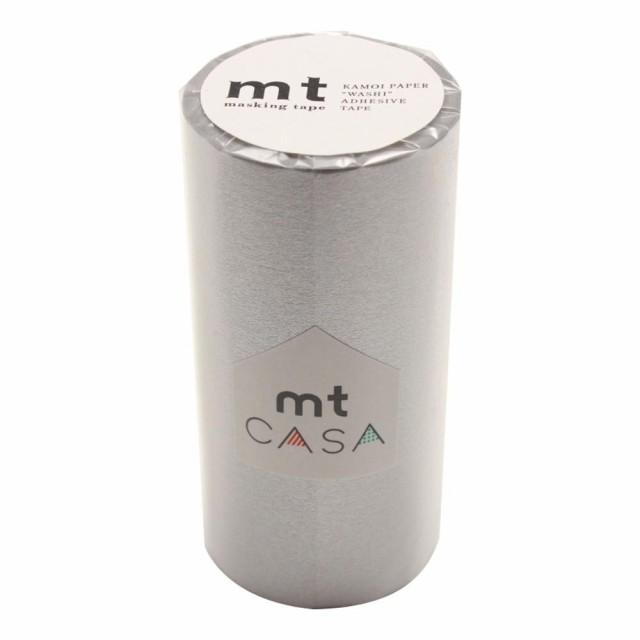 mt CASA マスキングテープ 100mm幅×10m巻き 銀 M...