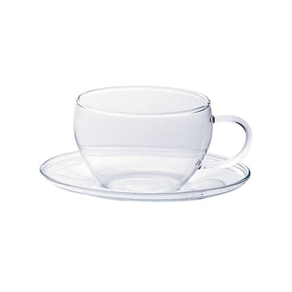 【送料無料】耐熱ティーカップ&ソーサー F37442...