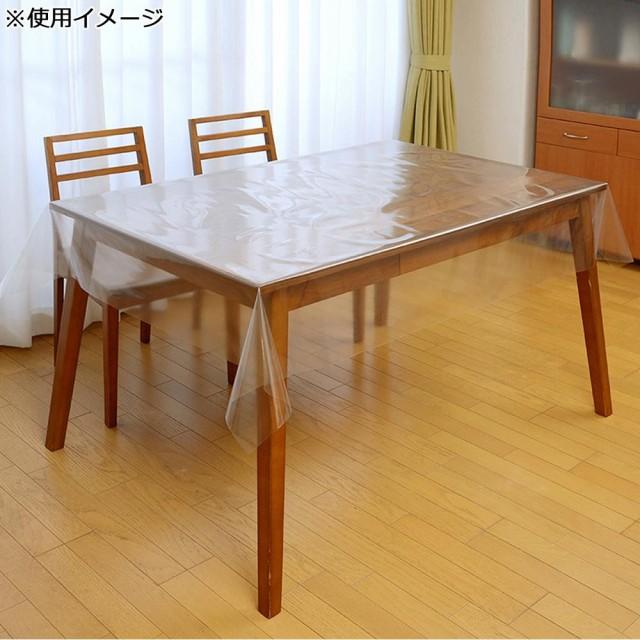 小巻透明テーブルクロス 120×200cm 0.15mm厚 TO(...