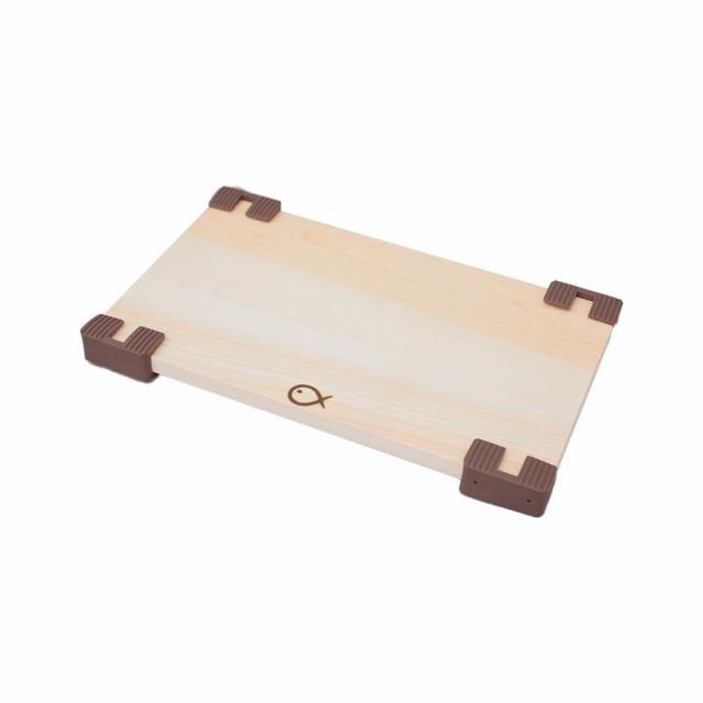 すべりにくい木製まな板 ひのき 幅36cm DHKS-36