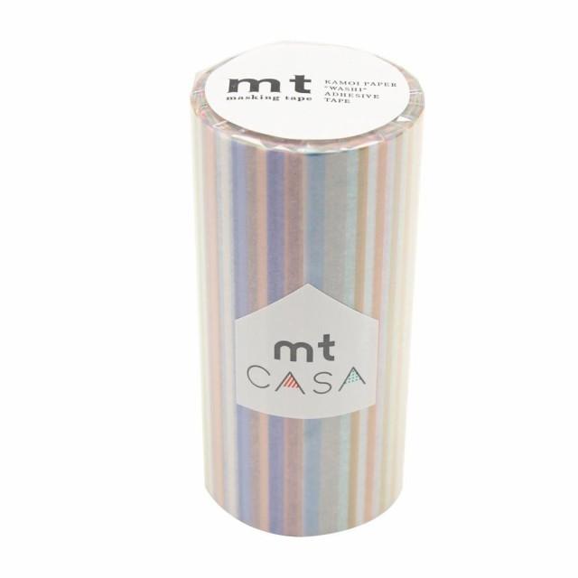 mt CASA マスキングテープ 100mm マルチボーダー...