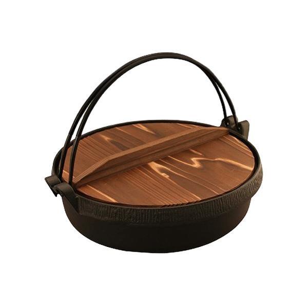おもてなしグルメ すき鍋 木蓋付 26cm