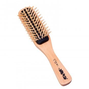 送料無料椿油のつげブラシ髪の毛 とく ヘアブラシ...