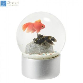 茶谷産業 Snow Globe スノードーム 金魚 720-011