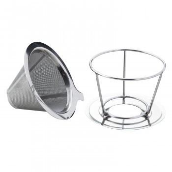 ステンレス製のコーヒードリッパー