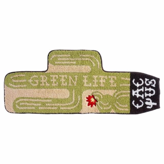 カクタス ホームマット 45×110cm グリーン