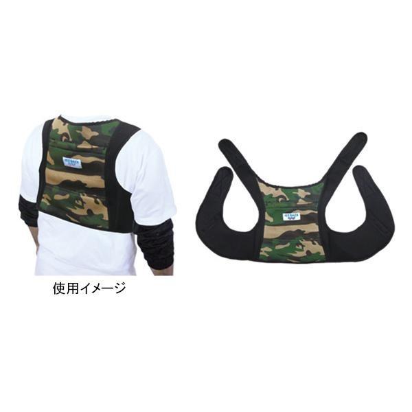 アイスバックW ダブル (保冷剤付) 迷彩 BR-556