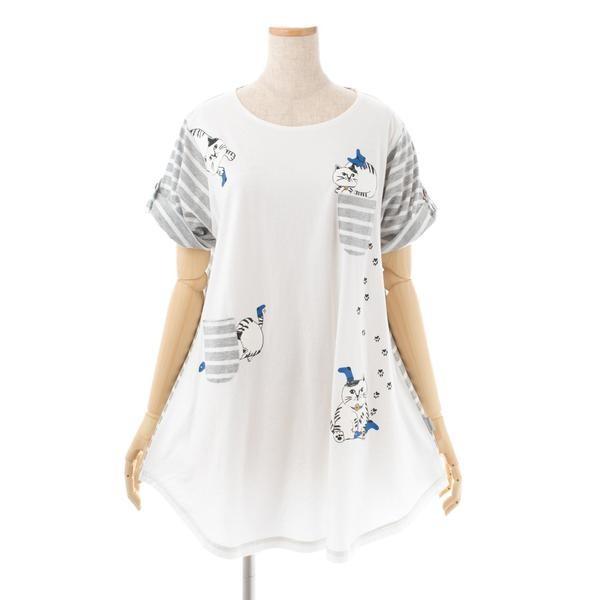 カイト君 AラインTシャツ オフ 193325-01