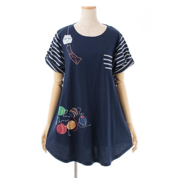 カーゴさんの夏まつり AラインTシャツ コン 19332...